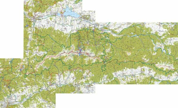 Detailna Turisticka Mapa 1 50000
